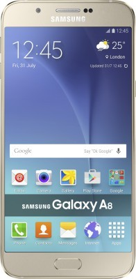 SAMSUNG Galaxy A8(Gold, 32GB)