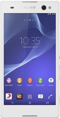 SONY Xperia C3(Snow White, 8 GB)