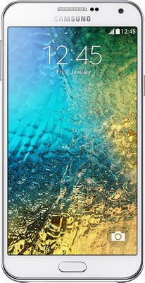 SAMSUNG Galaxy E7(White, 16 GB)